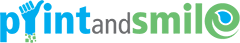 Print and Smile Logo